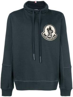 ... Moncler funnel neck sweatshirt