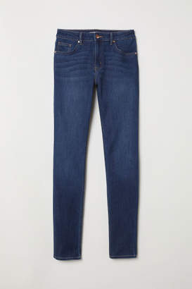 H&M Pants Skinny fit - Blue