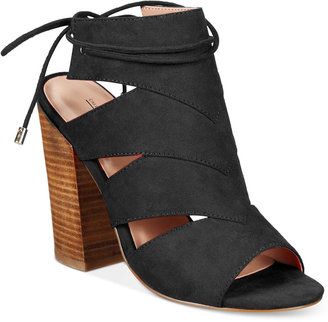 Call It Spring Asadolla Block-Heel Sandals Women's Shoes $59.50 thestylecure.com