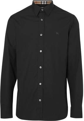 Burberry Merino Wool Half-zip Sweater