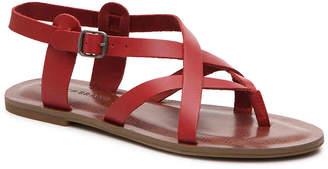 Lucky Brand Adinis Sandal -White/Black Geometric - Women's