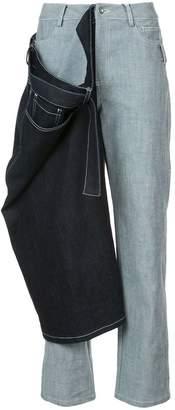 Yajun Double Denim jeans