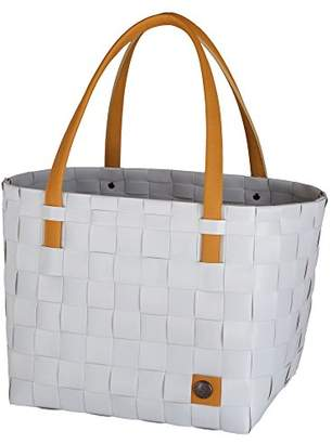 Handed By Tote Bag by Unek Goods | Recycled & Reusable | Woven & Handmade |