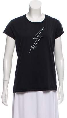 Givenchy 2018 Lightning-Bolt World Tour T-shirt