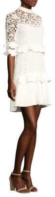 Rachel Zoe Janina Lace A-Line Dress