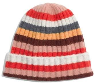 Madewell Multi Stripe Beanie