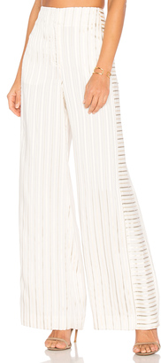Elizabeth and James Jones Wide Leg Trouser $395 thestylecure.com