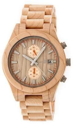 Earth Wood Men's Castillo Bracelet Watch, 45mm