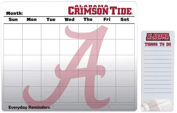 Kohl's Alabama Crimson Tide Dry Erase Calendar & To-Do List Pad Set