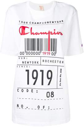 Champion barcode T-shirt