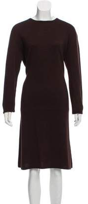 Calvin Klein Collection Wool-blend Midi Dress