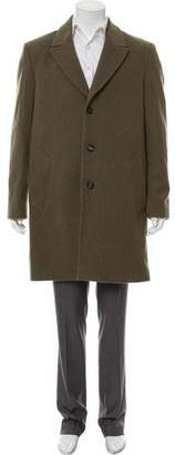 Marc Jacobs Wool Three-Button Overcoat
