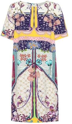 Etro Floral-printed crêpe dress