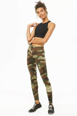 Forever 21 Active Camo Print Leggings