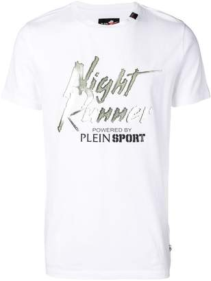 Plein Sport 'Night runner' T-shirt