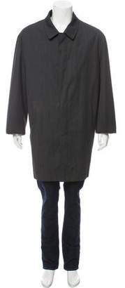 Loro Piana Storm System Wool Coat