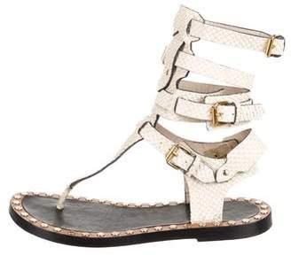 Isabel Marant Snakeskin Sandals