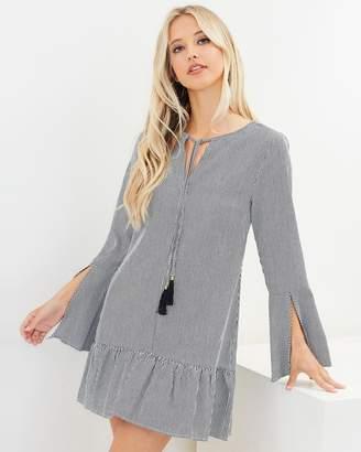 Rihana Frill Hem Dress