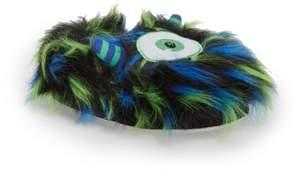 TrimFit Cyclops Faux Fur Light-Up Eye Slipper