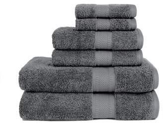 ADI Organic 6 Piece Towel Set in Dark Shadow