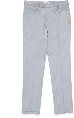 Scotch Shrunk センタープレス パンツ ブルー 4