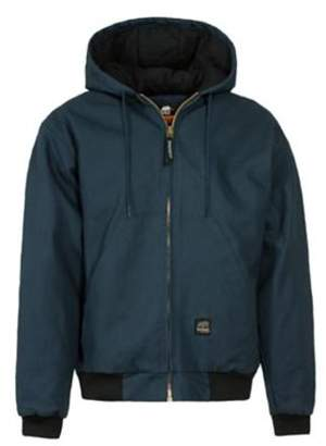 Berne Original Hooded Jacket Size 4XL Regular (Navy)