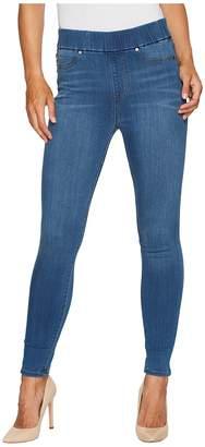 Liverpool Farrah High-Waist Pull-On Ankle in Silky Soft Denim in Coronado Mid Women's Jeans