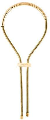 Lanvin Snake Chain Lariat Necklace