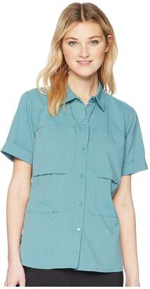 Mountain Hardwear Canyon Protm Short Sleeve Shirt Women's Clothing