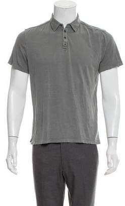 John Varvatos Silk Polo Shirt