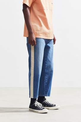BDG Leo Cord Side Tape Straight Jean