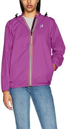 K-Way Women's Claudette Trenchcoat Long Sleeve Jacket,Small (Manufacturer Size:8)