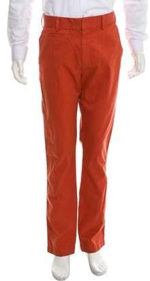 Save Khaki Flat Front Woven Pants