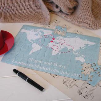 Bags Not War World Travel Map