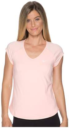 Nike Court Pure Tennis Top Women's Short Sleeve Pullover