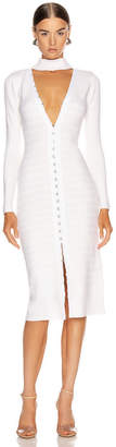 Jonathan Simkhai Slit Front Dress in White | FWRD