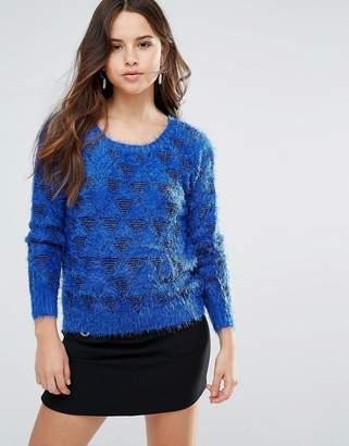 Louche Arif Fluffy Knit Sweater