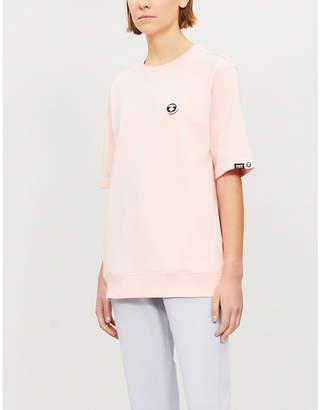 Aape Ape-logo cotton-blend T-shirt