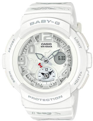 Casio Limited Edition Hello Kitty White Analog Baby G Watch