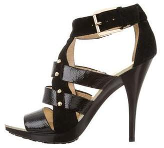 MICHAEL Michael Kors Studded Cage Sandals