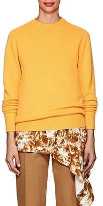 Victoria Beckham Women's Stockinette-Stitched Cashmere Sweater - Yellow