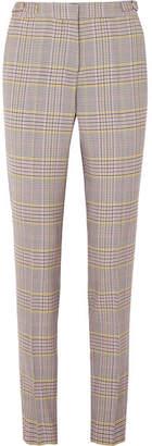 Gabriela Hearst Lisa Plaid Wool-blend Skinny Pants