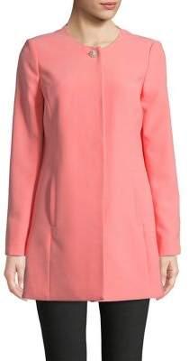 Karl Lagerfeld Paris Long Sleeve Topper Coat