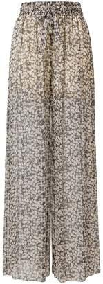 Zimmermann sheer floral trousers