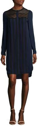 Elie Tahari Women's Lita Silk Shirtdress
