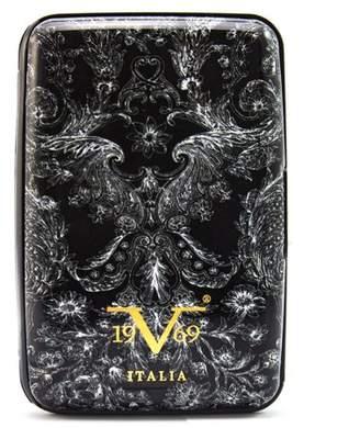 V19.69 Italia RFID Blocking Wallet, Secured Card Holder (Victorian)