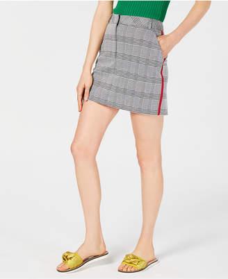 Project 28 Nyc Plaid Mini Skirt