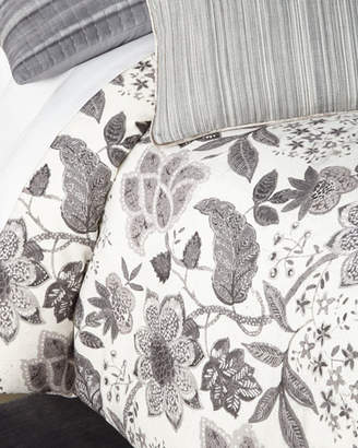 Callisto Home Kennedy Floral Print Queen Duvet