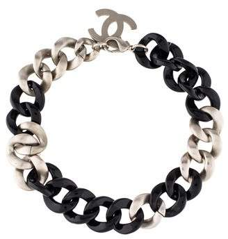 Chanel Curb Chain Necklace