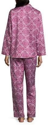 Miss Elaine COLLETTE BY Collette By 2-pc. Floral Pant Pajama Set